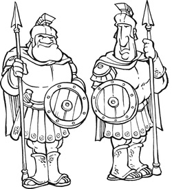 Coloring Pages St Rita S Vbs Shadrach Meshach And Abednego Coloring Page